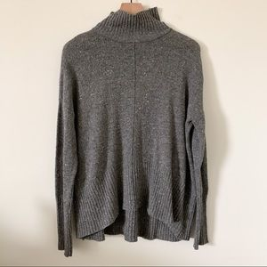 Anthropologie Braeve Mock Neck Sweater
